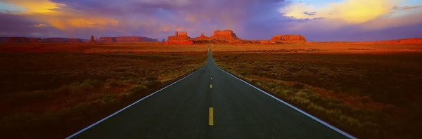 Scenic Highway 163, Monument Valley, USA. A Limited Edition Fine Art Landscape Photograph by Richard Hume