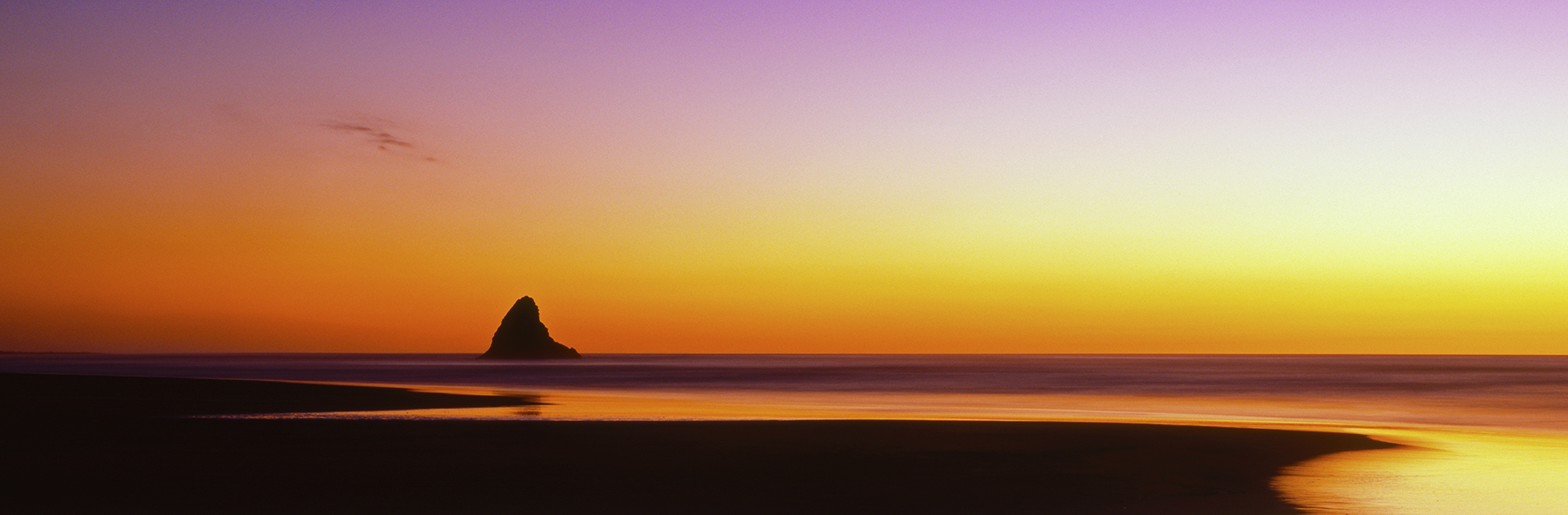 Alone, Karekare Beach, New Zealand. A Limited Edition Fine Art Landscape Photograph by Richard Hume