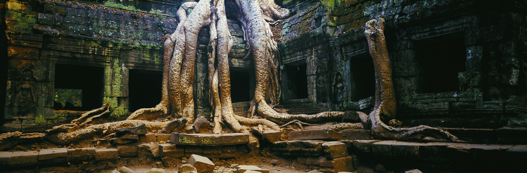 Angkor Wonder, Angkor Wat, Cambodia. A Limited Edition Fine Art Landscape Photograph by Richard Hume
