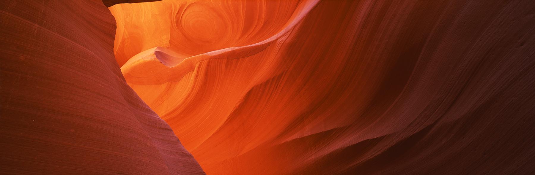 Antelope Canyon, Arizona, USA. A Limited Edition Fine Art Landscape Photograph by Richard Hume
