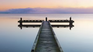 Calm, Rotorua, New Zealand. A Limited Edition Fine Art Landscape Photograph by Richard Hume