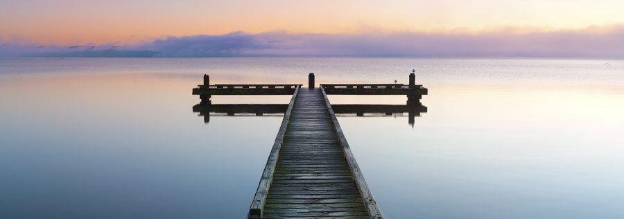 Calm, Rotorua, New Zealand. A Limited Edition Fine Art Landscape Photograph by Richard Hume
