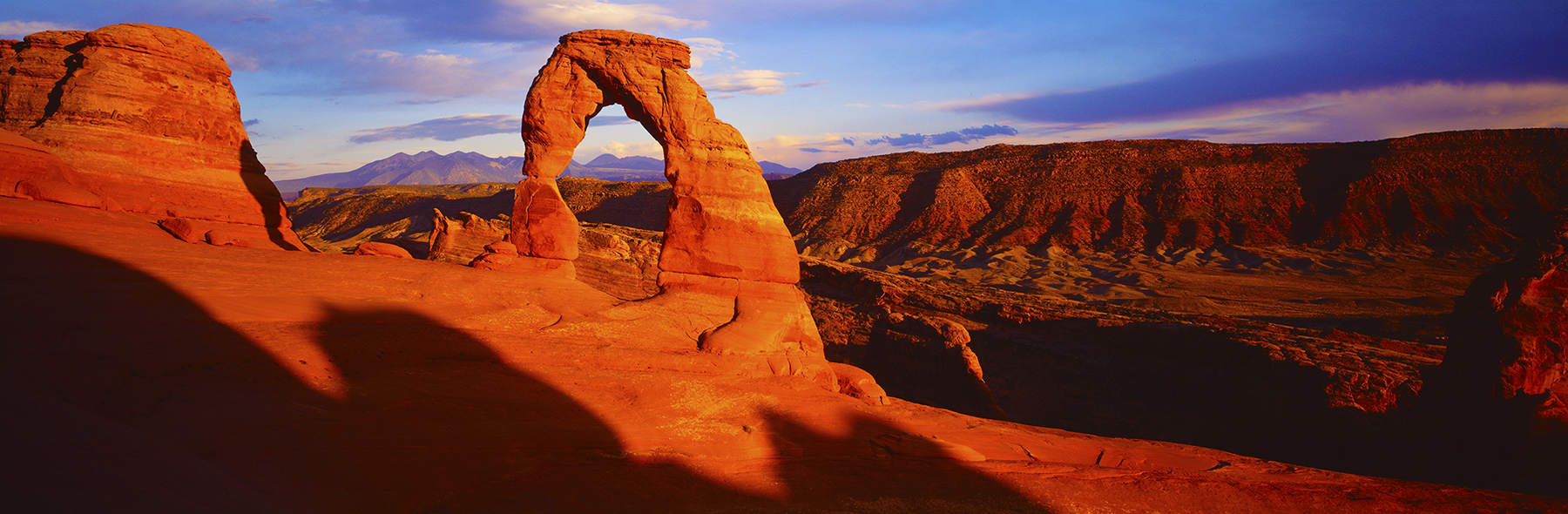 Delicate Arch, Arches National Park, USA. A Limited Edition Fine Art Landscape Photograph by Richard Hume