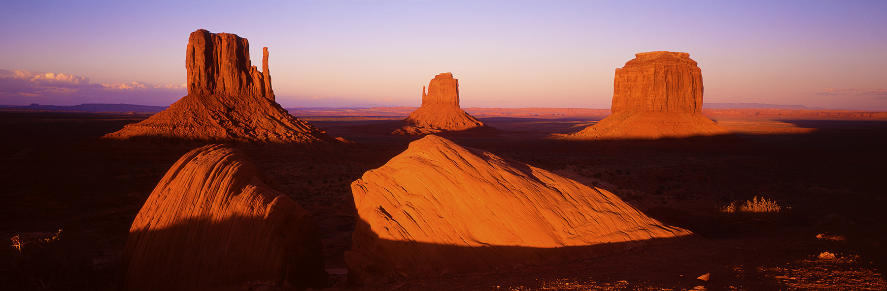 Monument Valley, USA. A Limited Edition Fine Art Landscape Photograph by Richard Hume