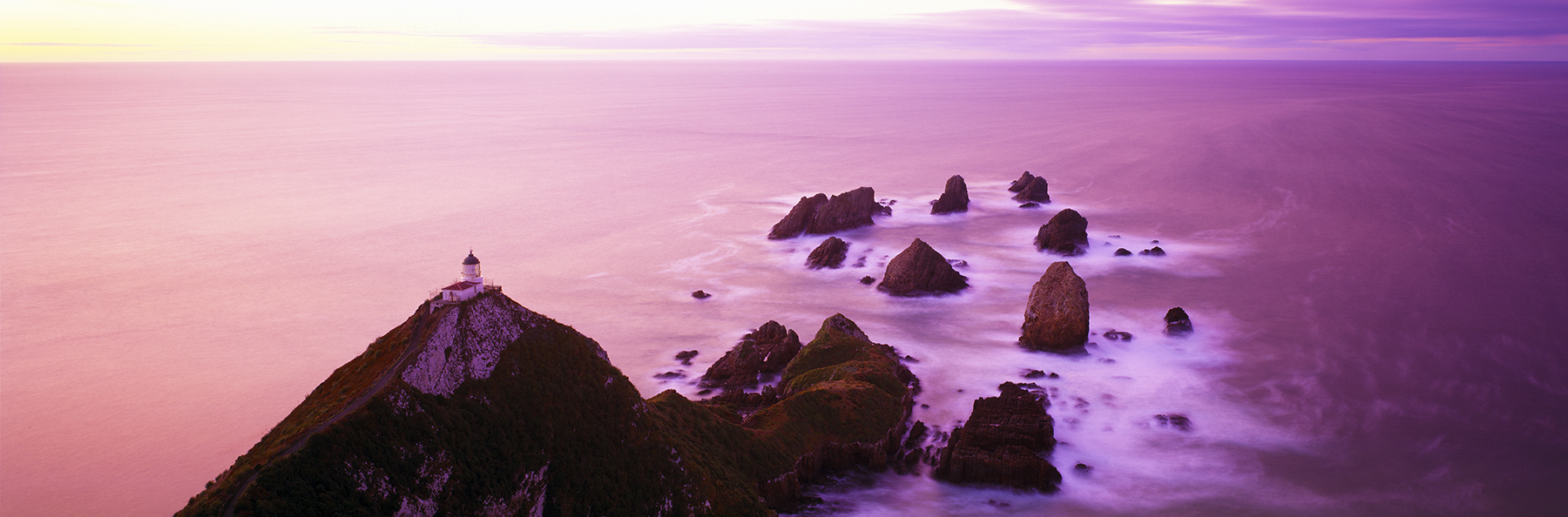Nugget Point, Catlins, New Zealand. A Limited Edition Fine Art Landscape Photograph by Richard Hume