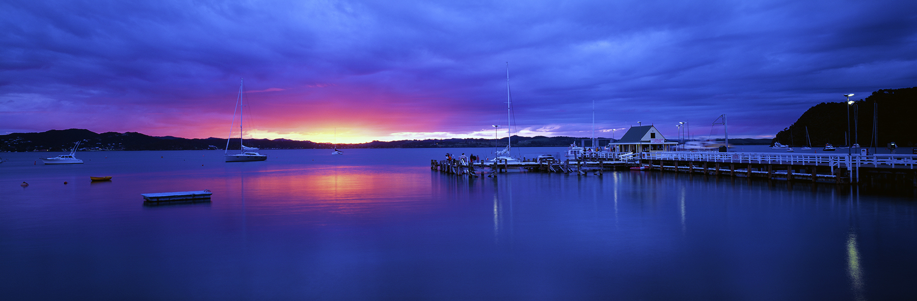 Historic Russell, Bay Of Islands, New Zealand. A Limited Edition Fine Art Landscape Photograph by Richard Hume