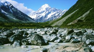 Hooker Valley, Mt Cook/Aoraki National Park, New Zealand. A Limited Edition Fine Art Landscape Photograph by Richard Hume
