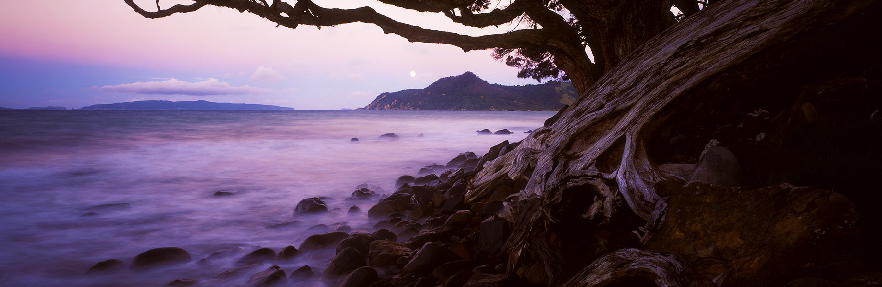 Kuaotunu Beach, Coromandel Peninsula, New Zealand. A Limited Edition Fine Art Landscape Photograph by Richard Hume
