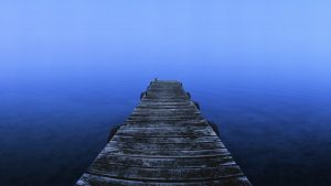 Misty Morning, Lake Tarawera, New Zealand. A Limited Edition Fine Art Landscape Photograph by Richard Hume