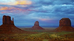 Monument Valley, Arizona, USA. A Limited Edition Fine Art Landscape Photograph by Richard Hume