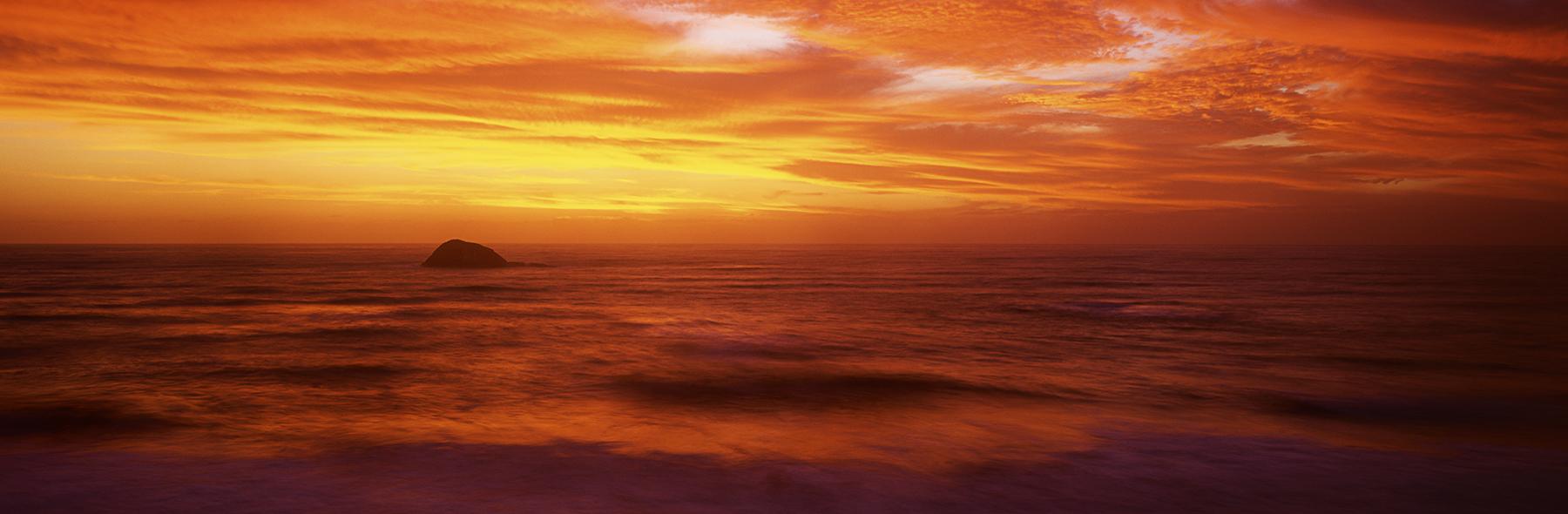 Murawai Magic, Murawai Beach, New Zealand. A Limited Edition Fine Art Landscape Photograph by Richard Hume