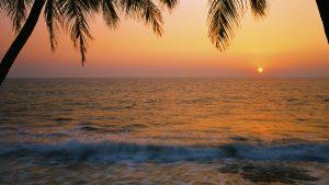 Palolem Beach, Goa, India. A Limited Edition Fine Art Landscape Photograph by Richard Hume