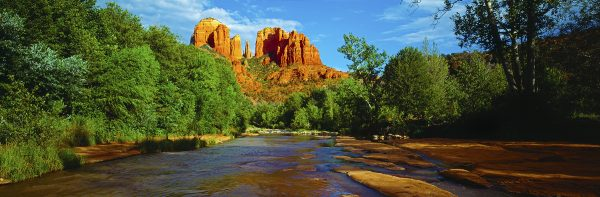 Oak Creek Canyon, Sedona, USA. A Limited Edition Fine Art Landscape Photograph by Richard Hume