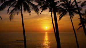 Palolem Beach, Goa India. A Limited Edition Fine Art Landscape Photograph by Richard Hume