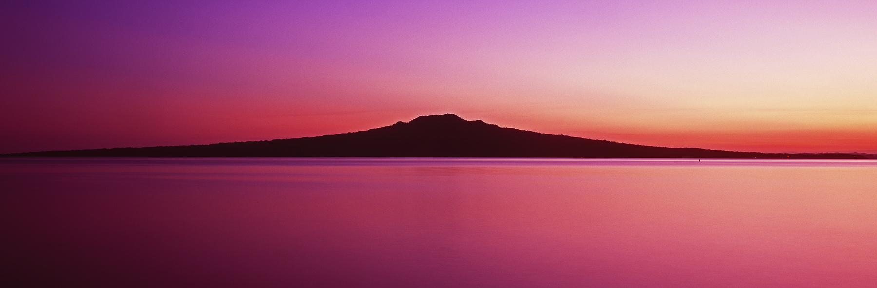 Rangitoto Island, Auckland, New Zealand. A Limited Edition Fine Art Landscape Photograph by Richard Hume