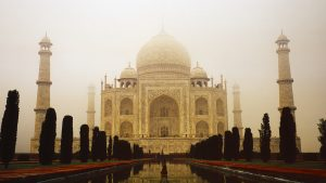 The Taj Mahal, Uttar Pradesh, India. A Limited Edition Fine Art Landscape Photograph by Richard Hume