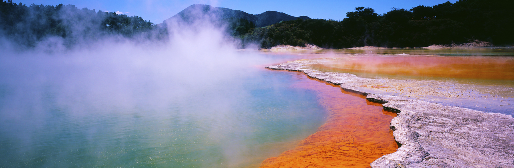 Wai o Tapu, Rotorua, New Zealand. A Limited Edition Fine Art Landscape Photograph by Richard Hume