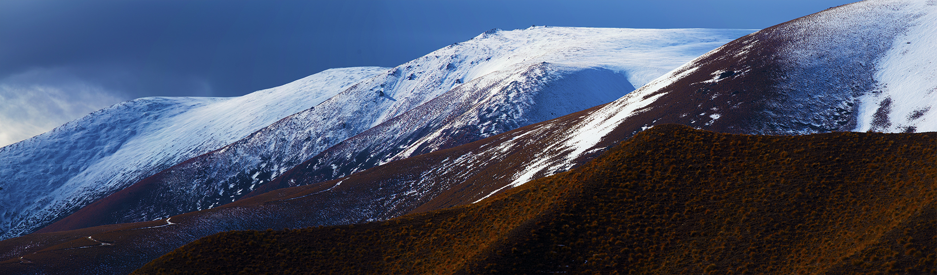 Alluring Lindis Lindis Pass New Zealand. A Limited Edition Fine Art Landscape Photograph by Richard Hume