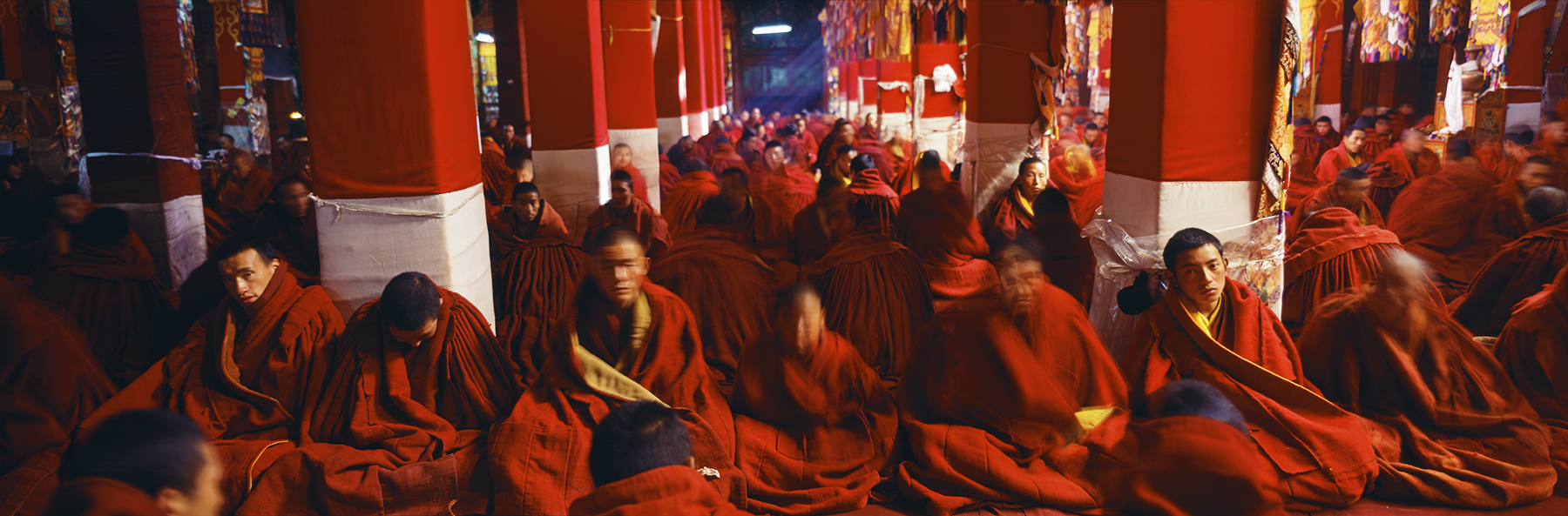 Drepung Monastery, Lhasa, Tibet. A Limited Edition Fine Art Landscape Photograph by Richard Hume