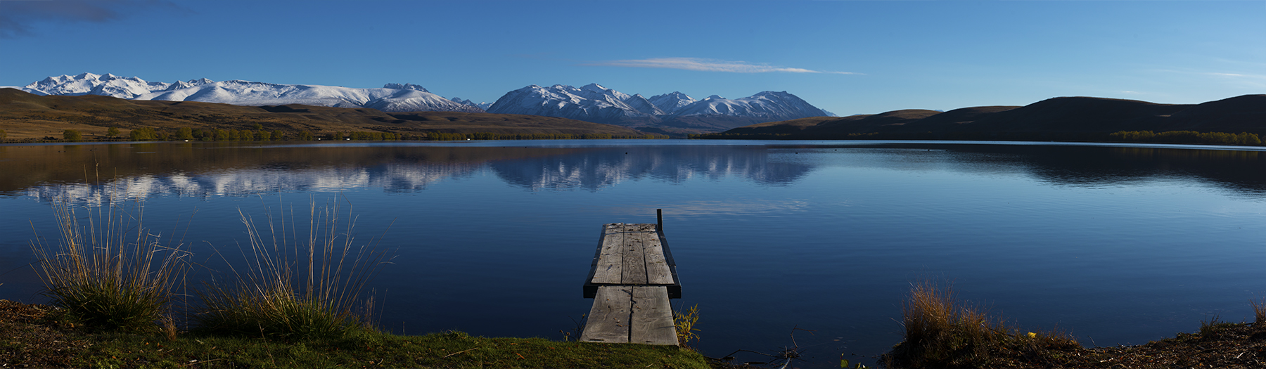 Lake Alexandrina, New Zealand. A Limited Edition Fine Art Landscape Photograph by Richard Hume