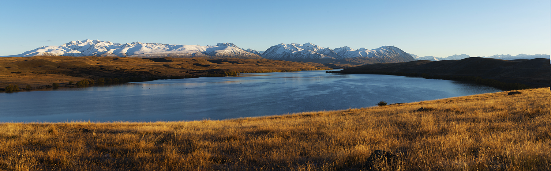 Lake Alexandrina New Zealand. A Limited Edition Fine Art Landscape Photograph by Richard Hume