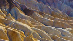 Zabriskie Point, Death Valley, USA. A limited Edition Fine Art Landscape photograph by Richard Hume