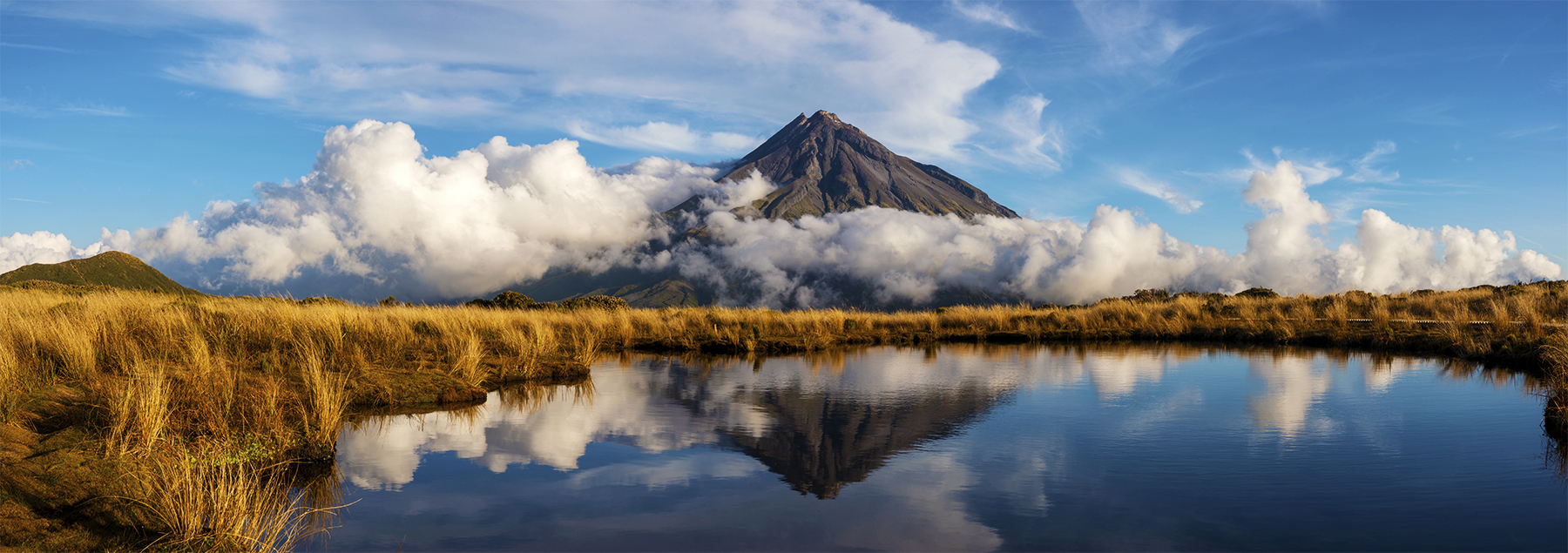 Mt Taranaki, New Zealand. A Limited Edition Fine Art Landscape Photograph by Richard Hume