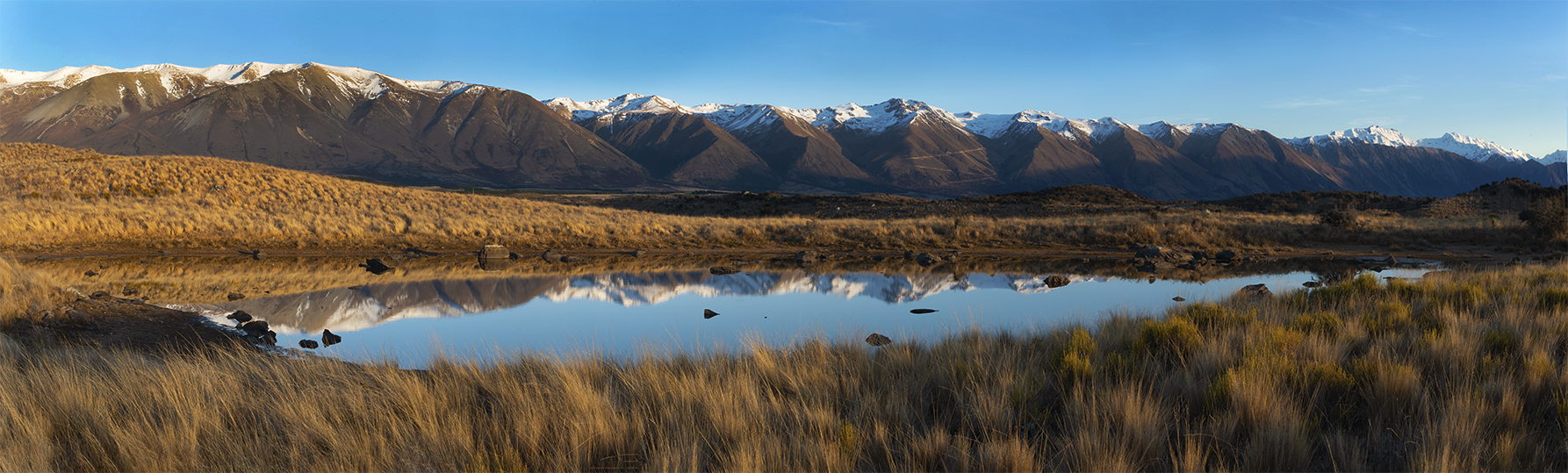 Near Lake Ohau, New Zealand. A Limited Edition Fine Art Landscape Photograph by Richard Hume